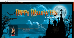 halloween custom myfreecams profile design