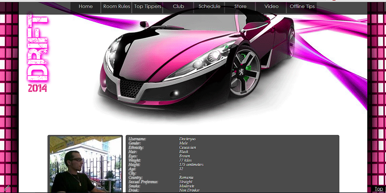 drift custom myfreecams profile design � mfcprofile design