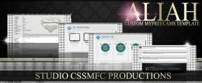 Aliah Custom MyFreeCams designed template - Cover